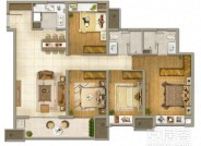 135㎡四室两厅两卫